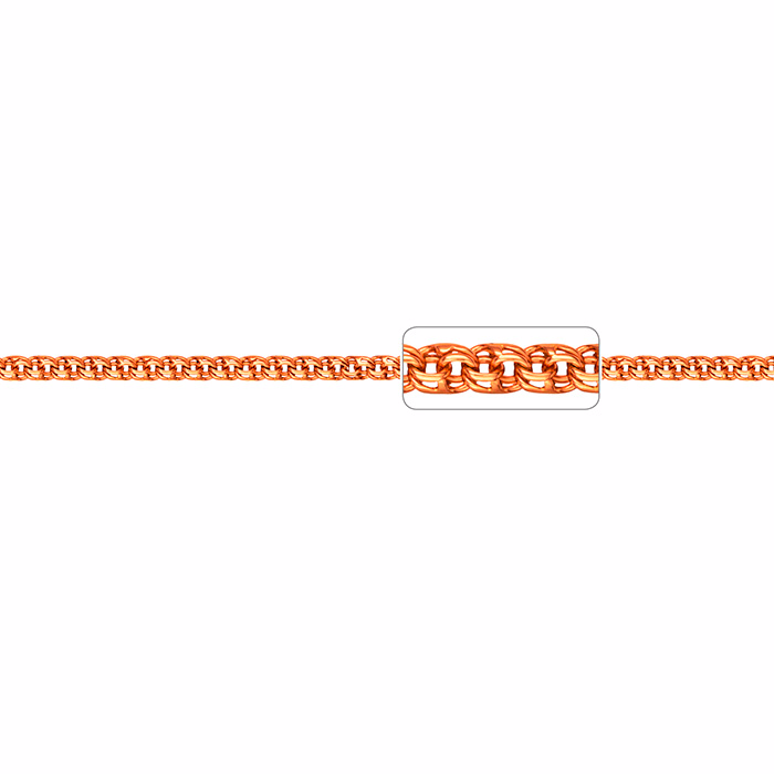 Браслет, плетение Бисмарк, 5,5 мм