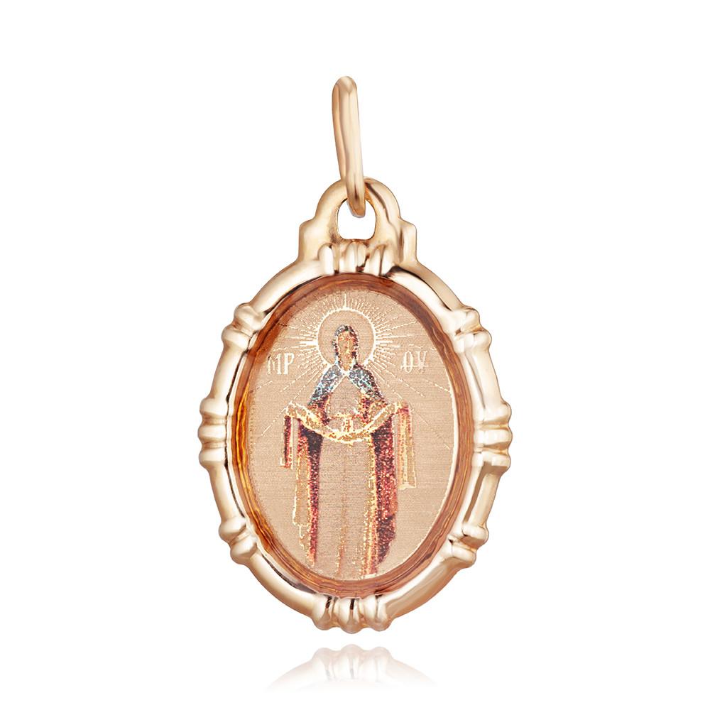 Подвес-икона Покров Пресвятой Богородицы с лазерным нанесением