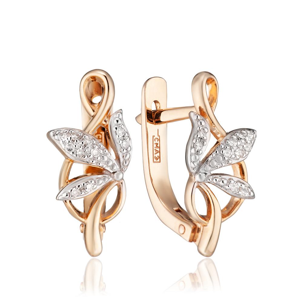 a8d8cc68f7b3 Серьги с бриллиантами — Ювелирный интернет-магазин 585 Золотой.