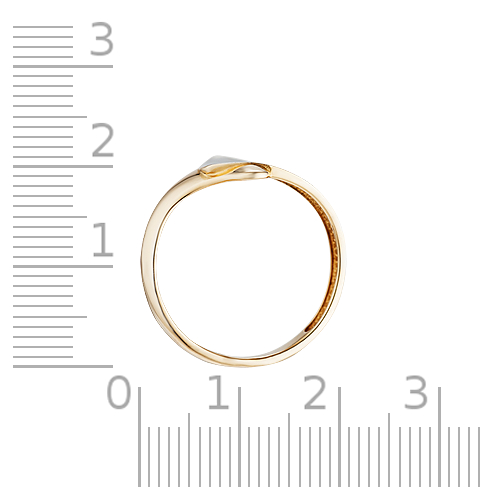 Кольцо с родированием