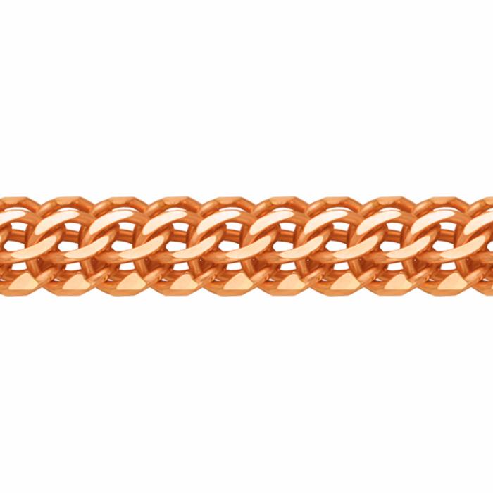 Золотой браслет плетение каприз