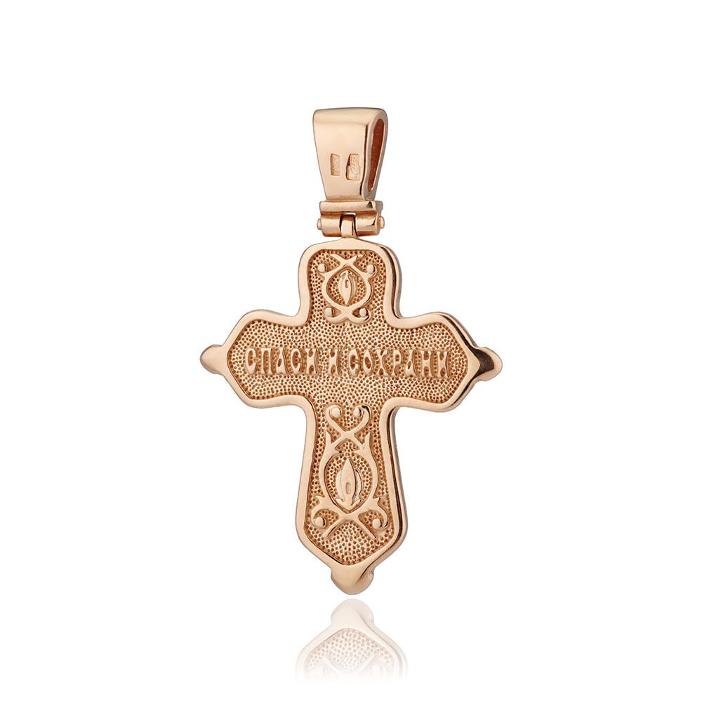 Крест с родированием
