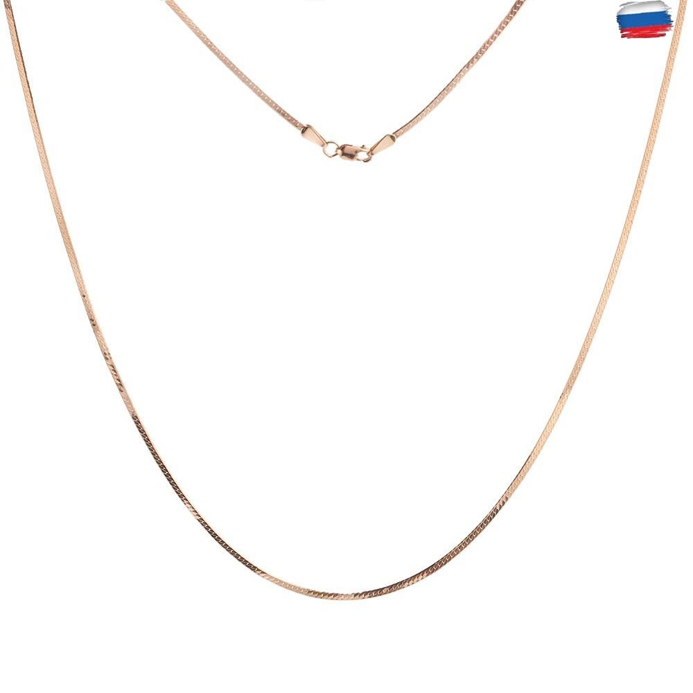 Золотая цепочка, плетение Кобра