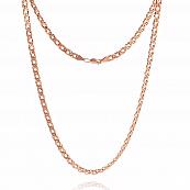 Цепь, плетение Ромб двойной с алмазной гранью 6-ти сторон, 5 мм