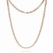 Цепь, плетение Ромб двойной с алмазной гранью, 6,5 мм